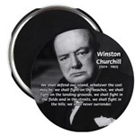 "Churchill Fear of Truth 2.25"" Magnet (10 pack)"