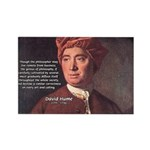 David Hume Philosophy Rectangle Magnet (10 pack)