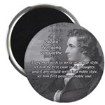 Goethe on Pure Thought Magnet