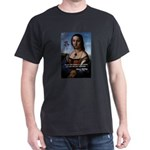Renoir with Mary Shelley Quot Black T-Shirt