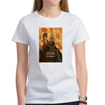 Cezanne Famous Paris Quote Women's T-Shirt