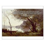 Corot Impressionist Art Small Poster