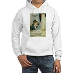 Female Artist Morisot Quote Hooded Sweatshirt