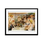Renoir Quote and Landscape Framed Panel Print