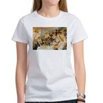 Renoir Quote and Landscape Women's T-Shirt