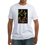 Rubens Self Portrait & Quote Fitted T-Shirt