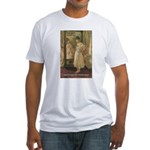 Aesop Quote Psyche Painting Fitted T-Shirt
