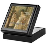 Aesop Quote Psyche Painting Keepsake Box