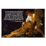 Religious Art & Beauty Large Poster