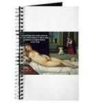 Freud Erotic Quote and Titian Journal