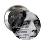 """Playwright Oscar Wilde 2.25"""" Button (100 pack)"""